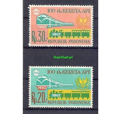 Indonezja 1968 Mi 605-606 Czyste **