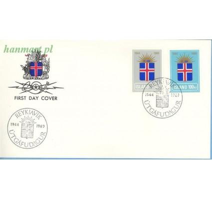 Islandia 1969 Mi 430-431 FDC