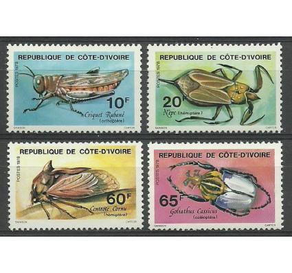 Wybrzeże Kości Słoniowej 1978 Mi 562-565 Czyste **