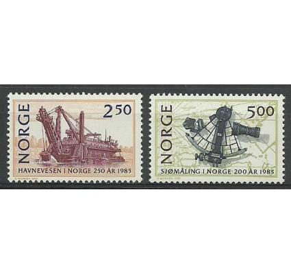 Znaczek Norwegia 1985 Mi 936-937 Czyste **