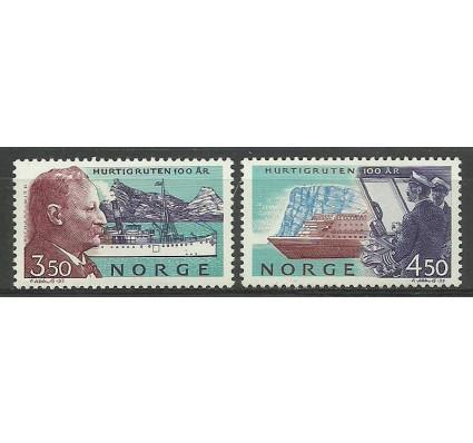 Znaczek Norwegia 1993 Mi 1127-1128 Czyste **