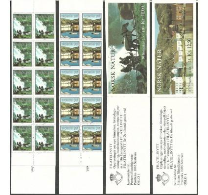Znaczek Norwegia 1979 Mi mh 795-796 Czyste **
