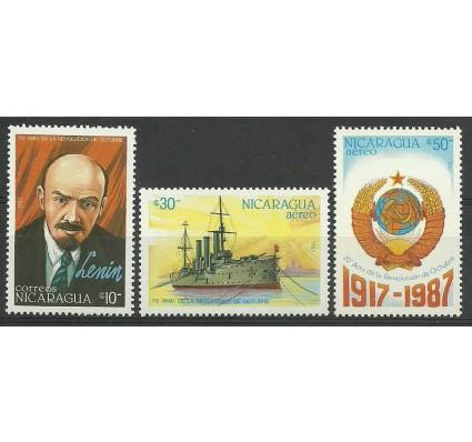 Znaczek Nikaragua 1987 Mi 2836-2838 Czyste **