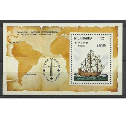 Znaczek Nikaragua 1981 Mi bl 140 Czyste **