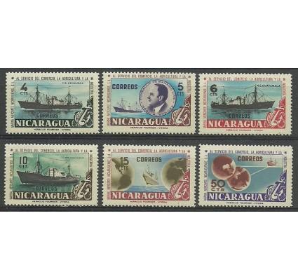 Znaczek Nikaragua 1957 Mi 1163-1168 Czyste **