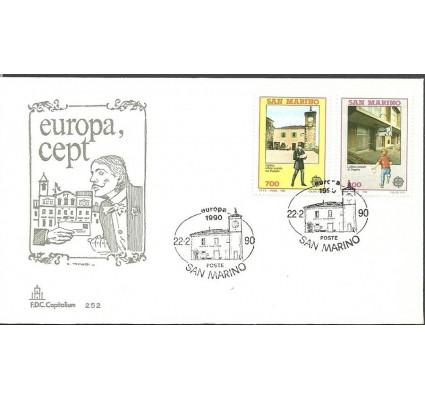 Znaczek San Marino 1990 Mi 1432-1433 FDC