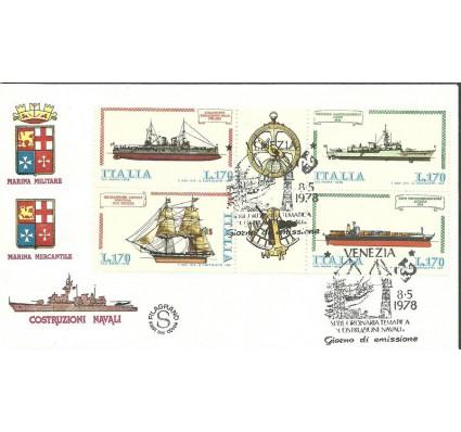 Znaczek Włochy 1978 Mi 1609-1612 FDC