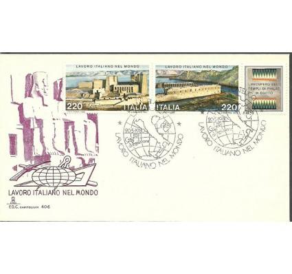 Znaczek Włochy 1980 Mi 1691-1692 FDC