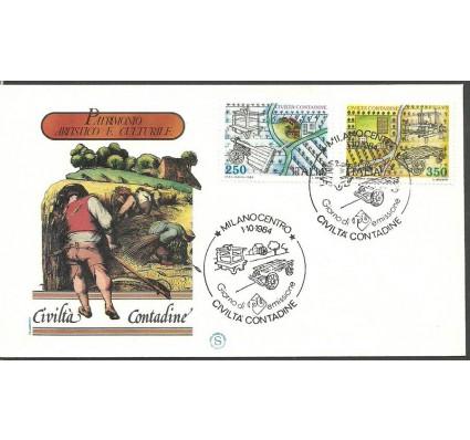Znaczek Włochy 1984 Mi 1896-1897 FDC