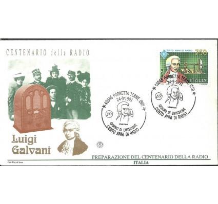 Znaczek Włochy 1991 Mi 2191 FDC