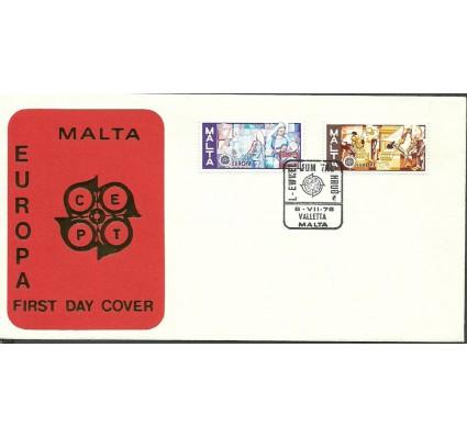 Znaczek Malta 1976 Mi 532-533 FDC