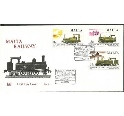 Znaczek Malta 1983 Mi 673-675 FDC