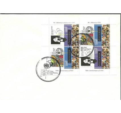 Znaczek Słowenia 1995 Mi ark 123-124 FDC