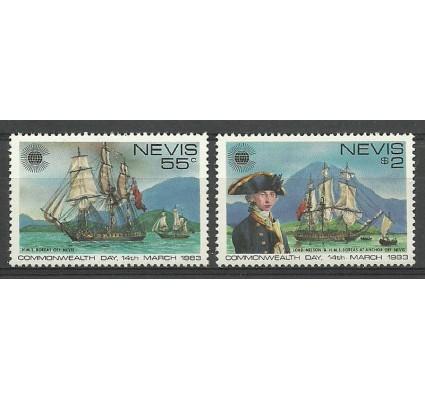 Znaczek Nevis 1983 Mi 88-89 Czyste **