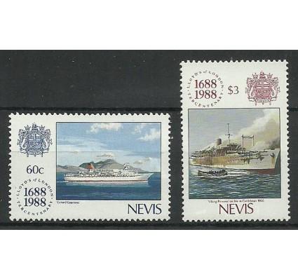 Znaczek Nevis 1988 Mi 502+504 Czyste **