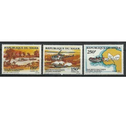 Znaczek Niger 1985 Mi 956-958 Czyste **