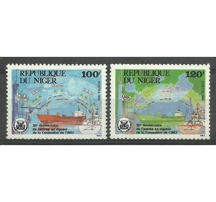 Znaczek Niger 1989 Mi 1061-1062 Czyste **