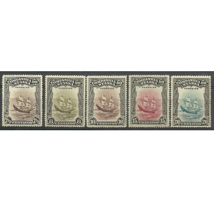 Znaczek Mozambik 1921 Mi 104-108 Czyste **