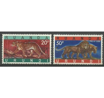 Znaczek Ruanda - Urundi 1961 Mi 180-181 Czyste **