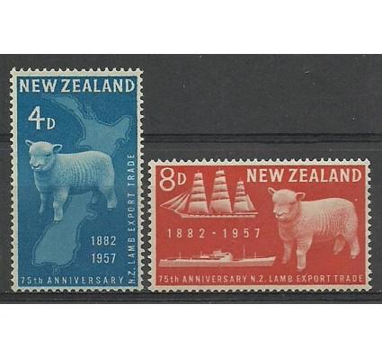 Znaczek Nowa Zelandia 1957 Mi 368-369 Czyste **