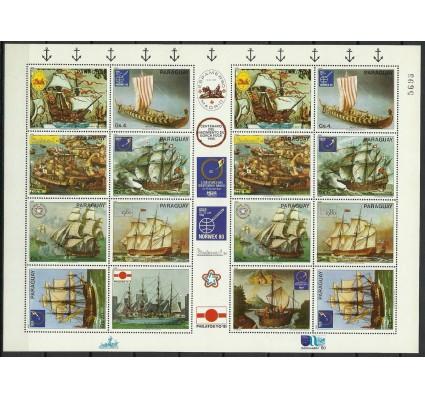 Znaczek Paragwaj 1980 Mi ark 3314-3320 Czyste **