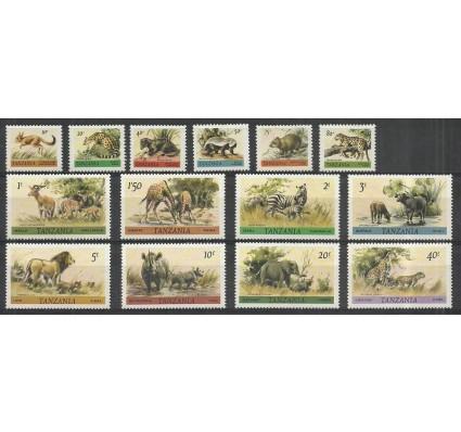 Znaczek Tanzania 1980 Mi 161-174 Czyste **