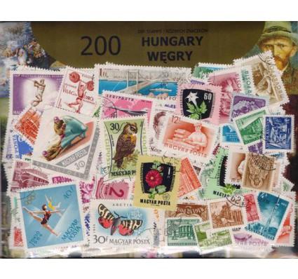 Znaczek Pakiet filatelistyczny WĘGRY 200 znaczków