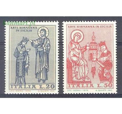 Znaczek Włochy 1974 Mi 1435-1436 Czyste **