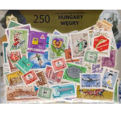 Znaczek Pakiet filatelistyczny WĘGRY 250 znaczków
