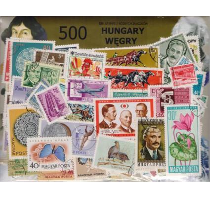 Znaczek Pakiet filatelistyczny WĘGRY 500 znaczków