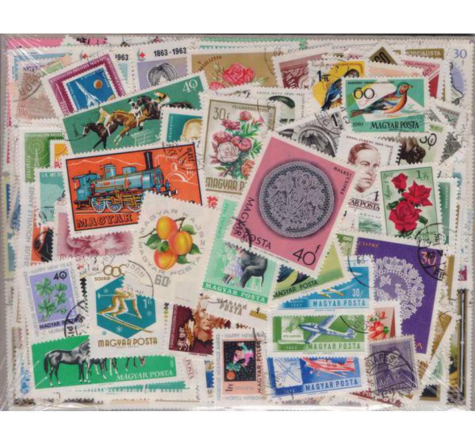 Pakiet filatelistyczny WĘGRY 500 znaczków