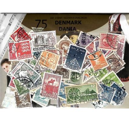 Znaczek Pakiet filatelistyczny DANIA 75 znaczków