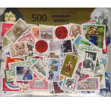 Pakiet filatelistyczny NIEMCY 500 znaczków