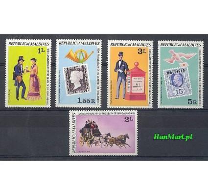 Znaczek Malediwy 1979 Mi 816-820 Czyste **