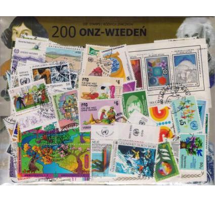 Znaczek Pakiet filatelistyczny ONZ-WIEDEŃ 200 znaczków