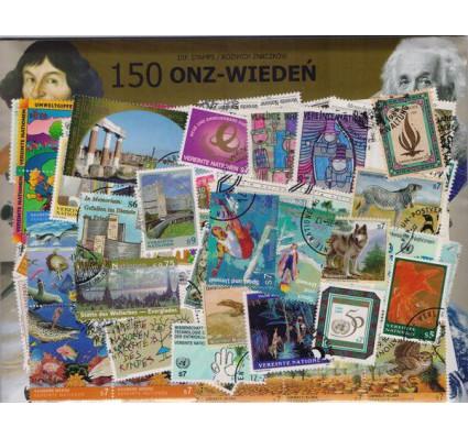 Znaczek Pakiet filatelistyczny ONZ-WIEDEŃ 150 znaczków