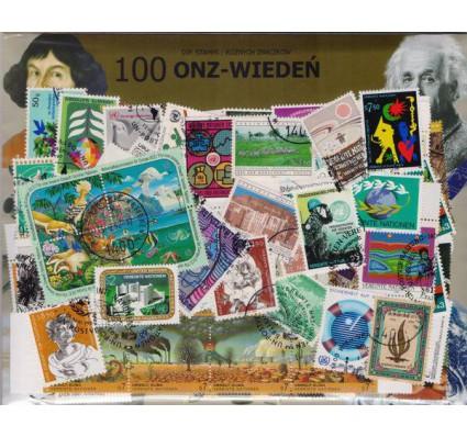 Znaczek Pakiet filatelistyczny ONZ-WIEDEŃ 100 znaczków