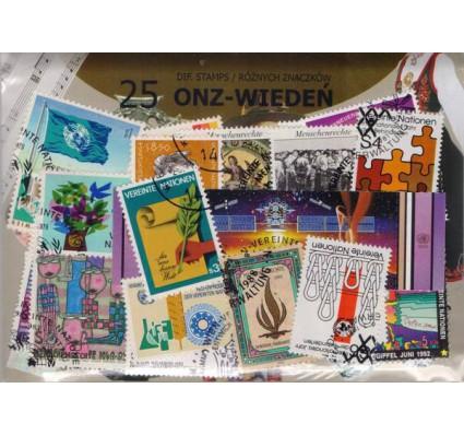 Znaczek Pakiet filatelistyczny ONZ-WIEDEŃ 50 znaczków
