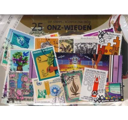 Znaczek Pakiet filatelistyczny ONZ-WIEDEŃ 25 znaczków