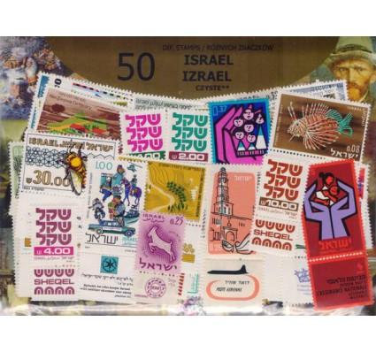 Znaczek Pakiet filatelistyczny IZRAEL czyste** 50 znaczków