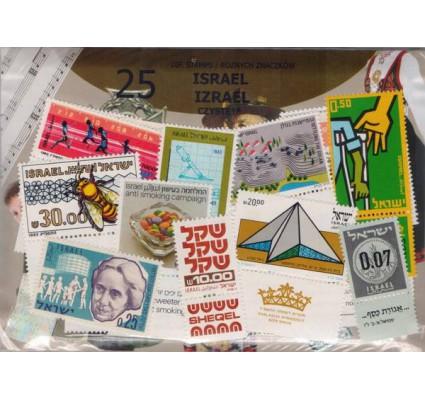 Znaczek Pakiet filatelistyczny IZRAEL czyste** 25 znaczków