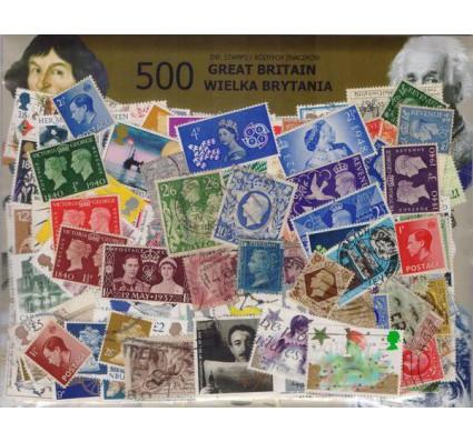 Znaczek Pakiet filatelistyczny WIELKA BRYTANIA 500 znaczków