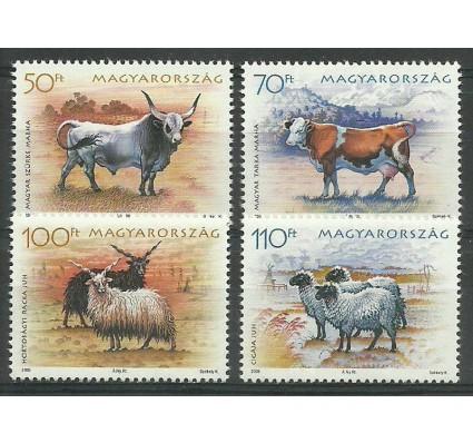 Znaczek Węgry 2005 Mi 5021-5024 Czyste **