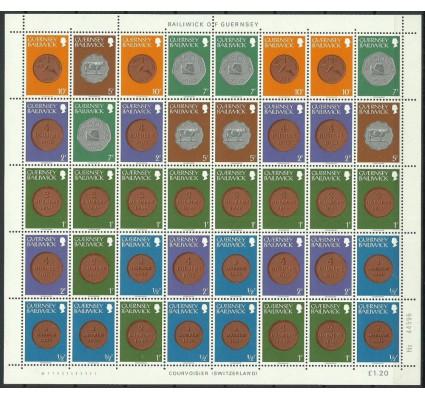 Znaczek Guernsey 1979 Mi ark 173-175+177+179+182 Czyste **