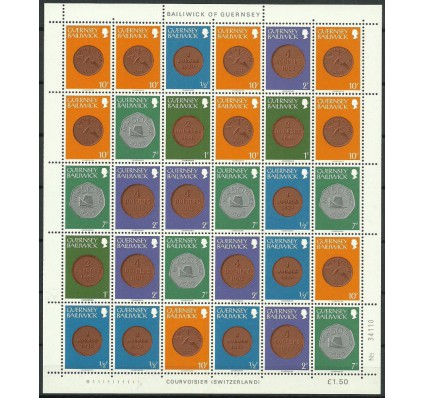 Znaczek Guernsey 1979 Mi ark 173-175+179+182 Czyste **
