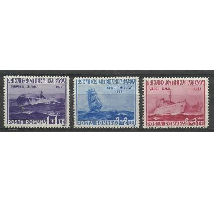 Znaczek Rumunia 1936 Mi 519-521 Czyste **