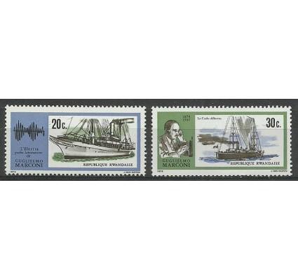 Znaczek Rwanda 1974 Mi 634-635 Czyste **