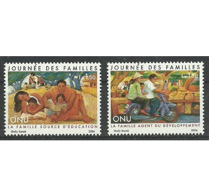 Znaczek Narody Zjednoczone Genewa 2006 Mi 541-542 Czyste **