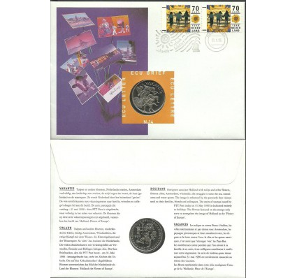Znaczek Holandia 1996 Mi num 1576 FDC
