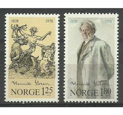Znaczek Norwegia 1978 Mi 764-765 Czyste **